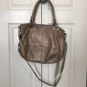 Neutral metallic purse